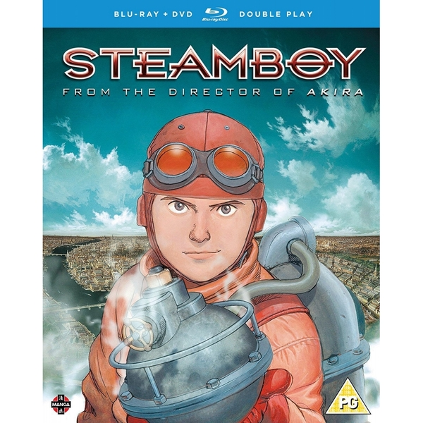Steamboy The Movie - DVD/Blu-ray Double Play