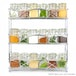 Ex-Display Free Standing 3 Tier Herb & Spice Rack | Non-slip Universal Design Chrome | M&W Used - Like New - Image 3