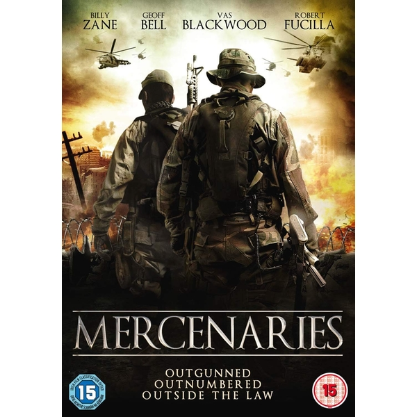 Mercenaries DVD