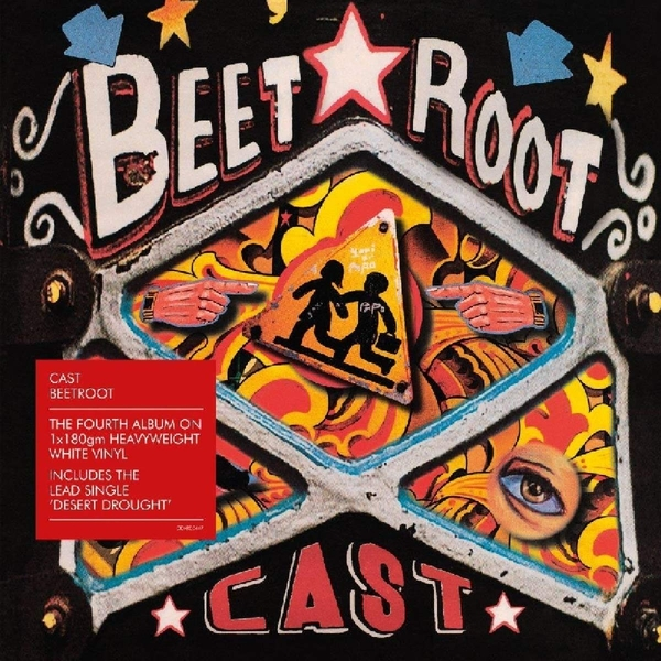 Cast - Beetroot White  Vinyl