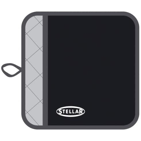Stellar Pot Holder 20 x 20cm Black
