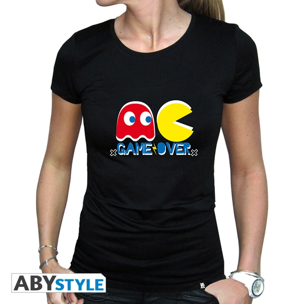 Pac-Man - Game Over Women's Small T-Shirt - Black