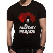 Mayday Parade - Umbrella Man Men's Small T-Shirt - Black
