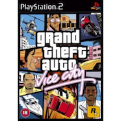 Grand Theft Auto GTA Vice City Game PS2
