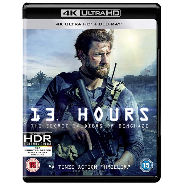 13 Hours: The Secret Soldiers of Benghazi 4K UHD Blu-ray