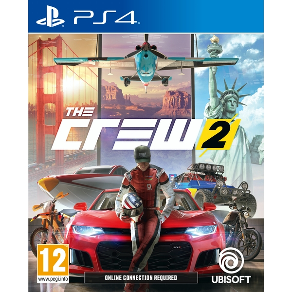 the crew 2 ps4 game. Black Bedroom Furniture Sets. Home Design Ideas