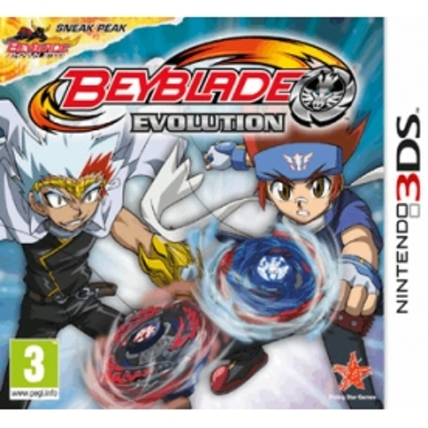 Beyblade Evolution Game 3DS