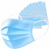 Value Range RC0001WH 3 Ply Face Mask - Pack of 10