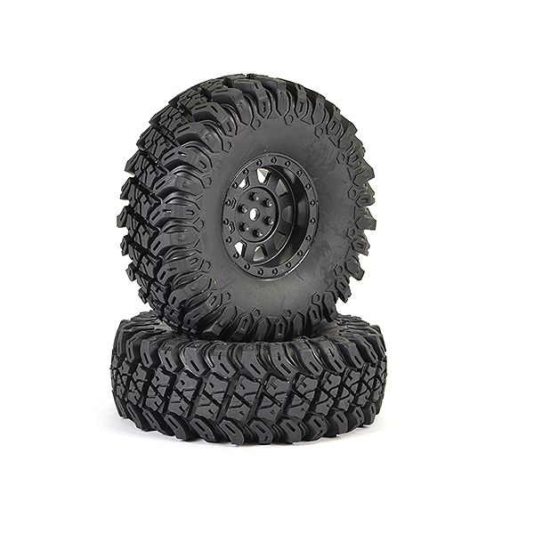 Ftx Outback Hi-Rock Pre-Mounted Wheels & Tyres (Pr)