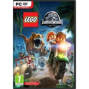 Lego Jurassic World Toy Edition PC Game (with Gallimimus Dinosaur)