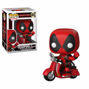 Deadpool & Scooter (Marvel) Funko Pop! Vinyl Figure
