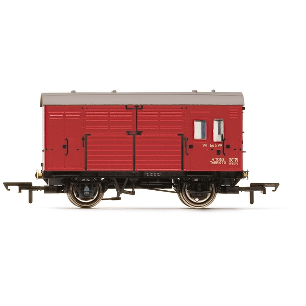 Hornby BR N13 Horse Box W665 Era 4 Model Train