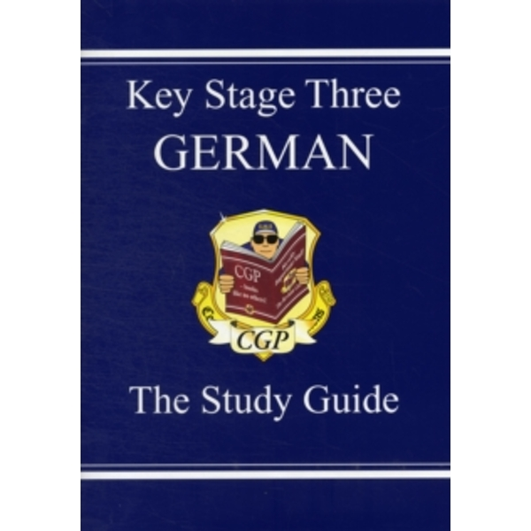 KS3 German Study Guide by CGP Books (Paperback, 2002)