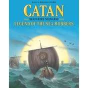 Catan Seafarers Scenario Legend of the Sea Robbers Board Game