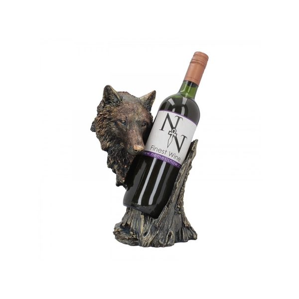 Call of the Wine Wolf Wine Bottle Holder