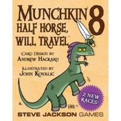 Munchkin 8 Half Horse Will Travel Card Board Game