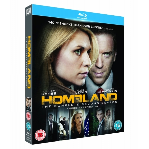 Homeland - Season 2 Blu-ray