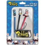 Raving Rabbids Stylus & Screen Wipe Set 3DS