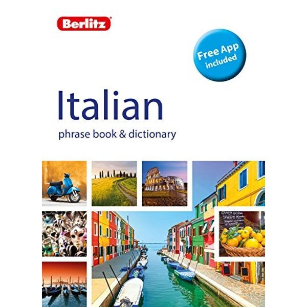 Berlitz Phrase Book & Dictionary Italian (Bilingual dictionary)  Paperback / softback 2018