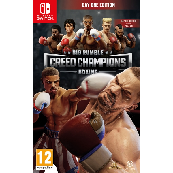 Big Rumble Boxing Creed Champions Day One Edition Nintendo Switch Game