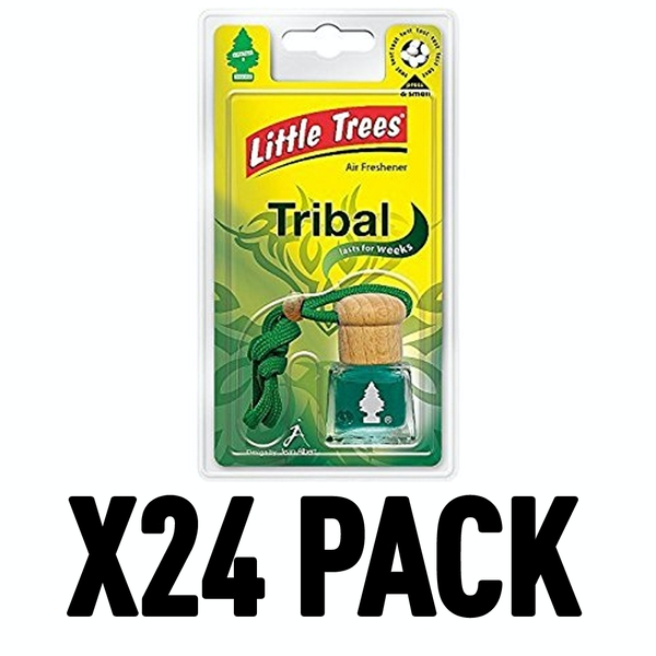 Tribal (Pack Of 24) Little Trees Bottle Air Freshener