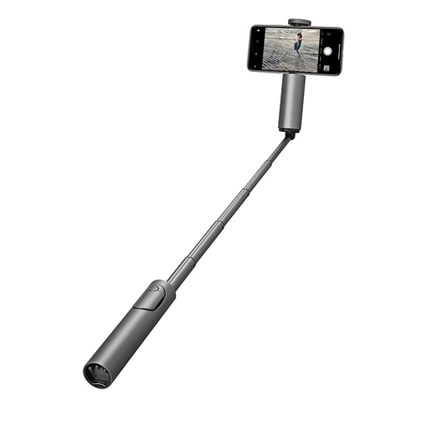 CliqueFie Max Selfie Stick - Space Grey