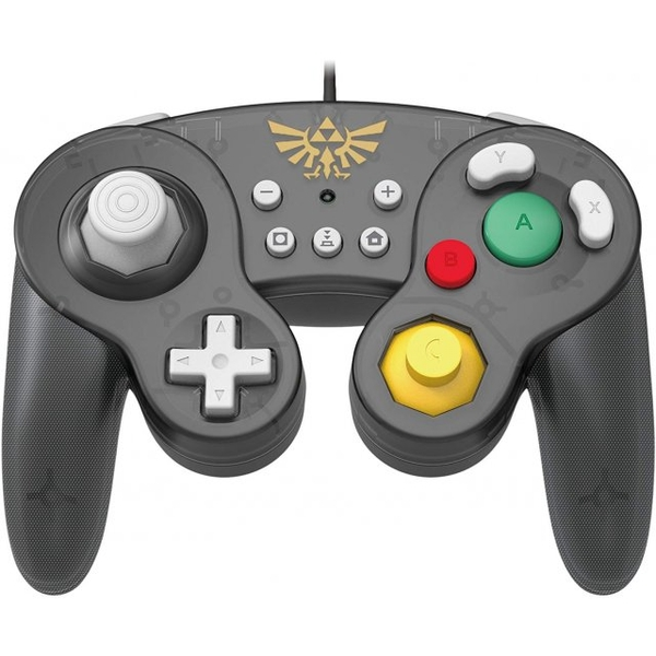 Hori Battle Pad (Zelda) Gamecube Style Controller for Nintendo Switch - Image 1
