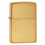 Zippo Armor Brushed Brass Windproof Lighter