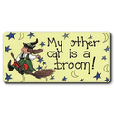 My Other Car Is A Broom Smiley Magnet Pack Of 12