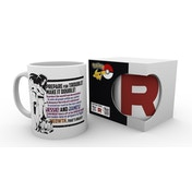 Pokemon Team Rocket Mug