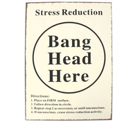 Bang Head Sign