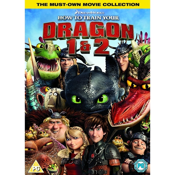 How to Train Your Dragon / How to Train Your Dragon 2 Double Pack DVD - Image 1