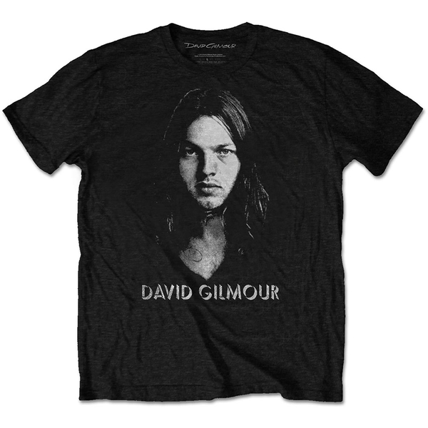 David Gilmour - Half-tone Face Men's Medium T-Shirt - Black