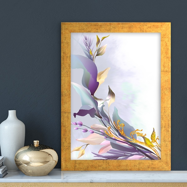 AC14873459632 Multicolor Decorative Framed MDF Painting