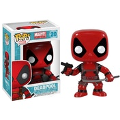 Deadpool Sword and Gun (Marvel) Exclusive Funko Pop! Bobble-Head Vinyl Figure