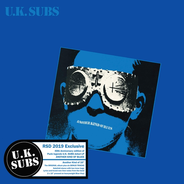 Uk Subs - Another Kind of Blues (10 Inch) (RSD 2019) Vinyl