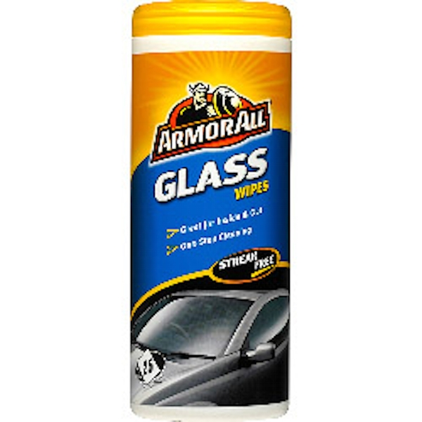 Armor All Glass Wipes Pack of 25