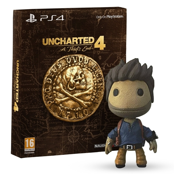 uncharted 4 a thief s end special edition ps4 game drake sackboy