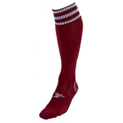 PT 3 Stripe Pro Football Socks Boys Maroon/White