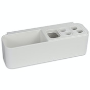 Multi-Compartment Toothbrush Holder | Pukkr Long