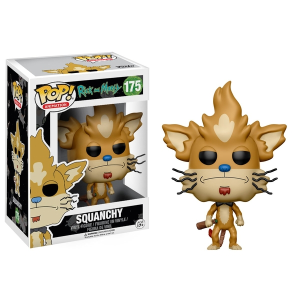Squanchy (Rick and Morty) Funko Pop! Vinyl Figure #175