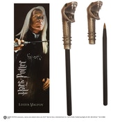 Harry Potter - Lucius Malfoy Wand Pen And Bookmark Set