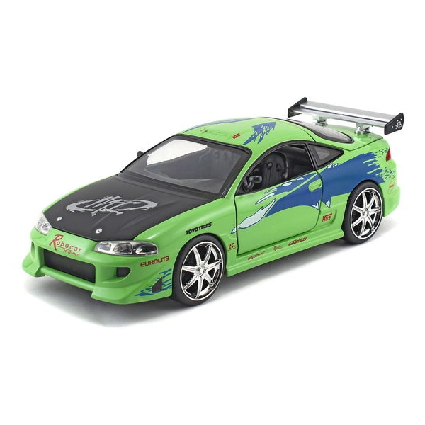 Fast & Furious - Brian's 1995 Mitsubishi Eclipse Sports Die-cast Toy Car