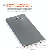 Samsung Galaxy Note 5 Ultra Thin Gel Case - Clear