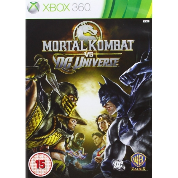 Mortal Kombat vs DC Universe Game Xbox 360