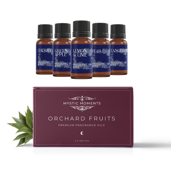 Mystic Moments  Orchard Fruits Fragrant Oils Gift Starter Pack
