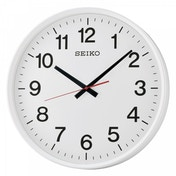 Seiko QXA700W Large Size Wall Clock with Sweep Second Hand White
