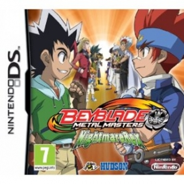 Beyblade Metal Masters Nightmare Rex Game