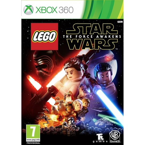 (Pre-Owned) Lego Star Wars The Force Awakens Xbox 360 Game Used - Like New