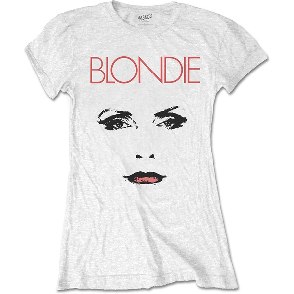Blondie - Staredown Women's XX-Large T-Shirt - White
